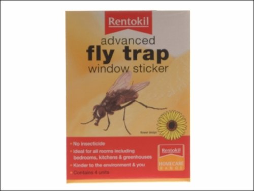 Rentokil fw35 advanced window fly traps pack 4 fw35 fw 35
