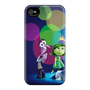 Scratch Resistant Hard Phone Cover For Iphone 4/4s (rHI4937yNBB) Unique Design Stylish Mr Peabody Sherman Series