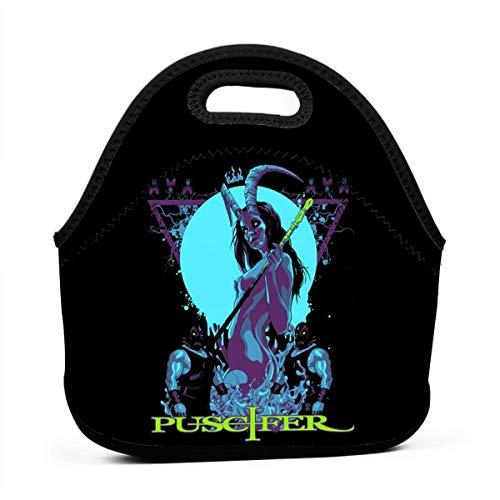 Puscifer Anime Lunch Bag Lunch Box Carry Case Handbags Portable Bento