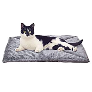 Furhaven Pet – ThermaNAP Self-Warming Quilted Blanket Mat, Self-Warming Convertible Cuddle Bed, and Waterproof-Lined…