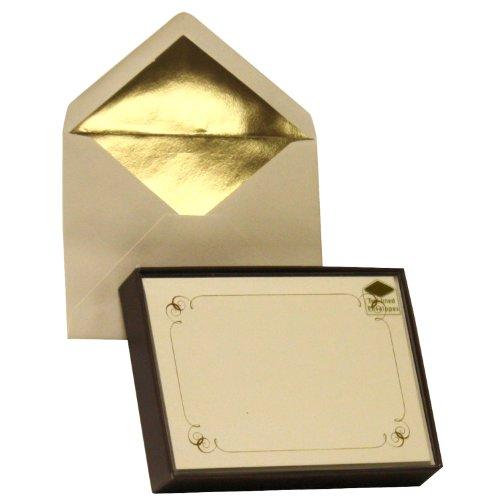 Border Card (Designer Greetings Monogram Boxed Note Cards - Border (622-00159-000))