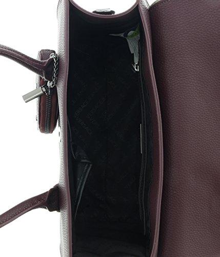 Versace Jeans E1VQBBH6_75426 Bolso De Mano Para Mujer Cuero Rojo