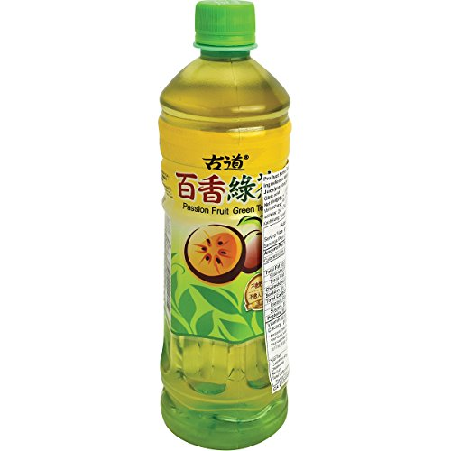 Gudao Passion Fruit Green Tea, 20.2 Fluid Ounce (Pack of 24) ()