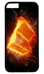 3d Fire book Masterpiece Limited Design PC Black Case for iphone 6 by Cases & Mousepads