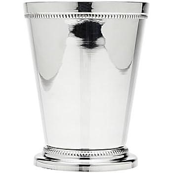 "Godinger Beaded Barware Beaded 4-1/4"" Mint Julep Cup, (1, Silver)"