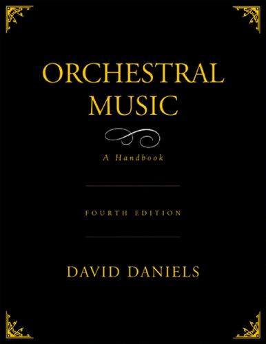 Orchestral Music: A Handbook Pdf