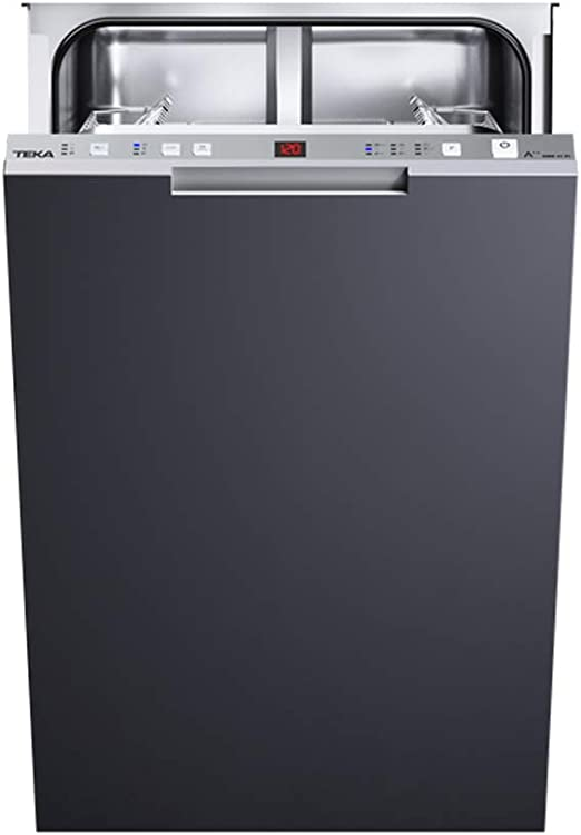 Comprar Teka DW8 41 FI Totalmente integrado 10cubiertos A++ lavavajilla - Lavavajillas (Totalmente integrado, Acero inoxidable, Botones, 10 cubiertos, 49 dB, A)           [Clase de eficiencia energética A++]