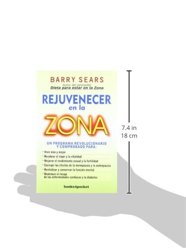 Rejuvenecer en la zona (Books4pocket crec. y salud): Amazon.es ...