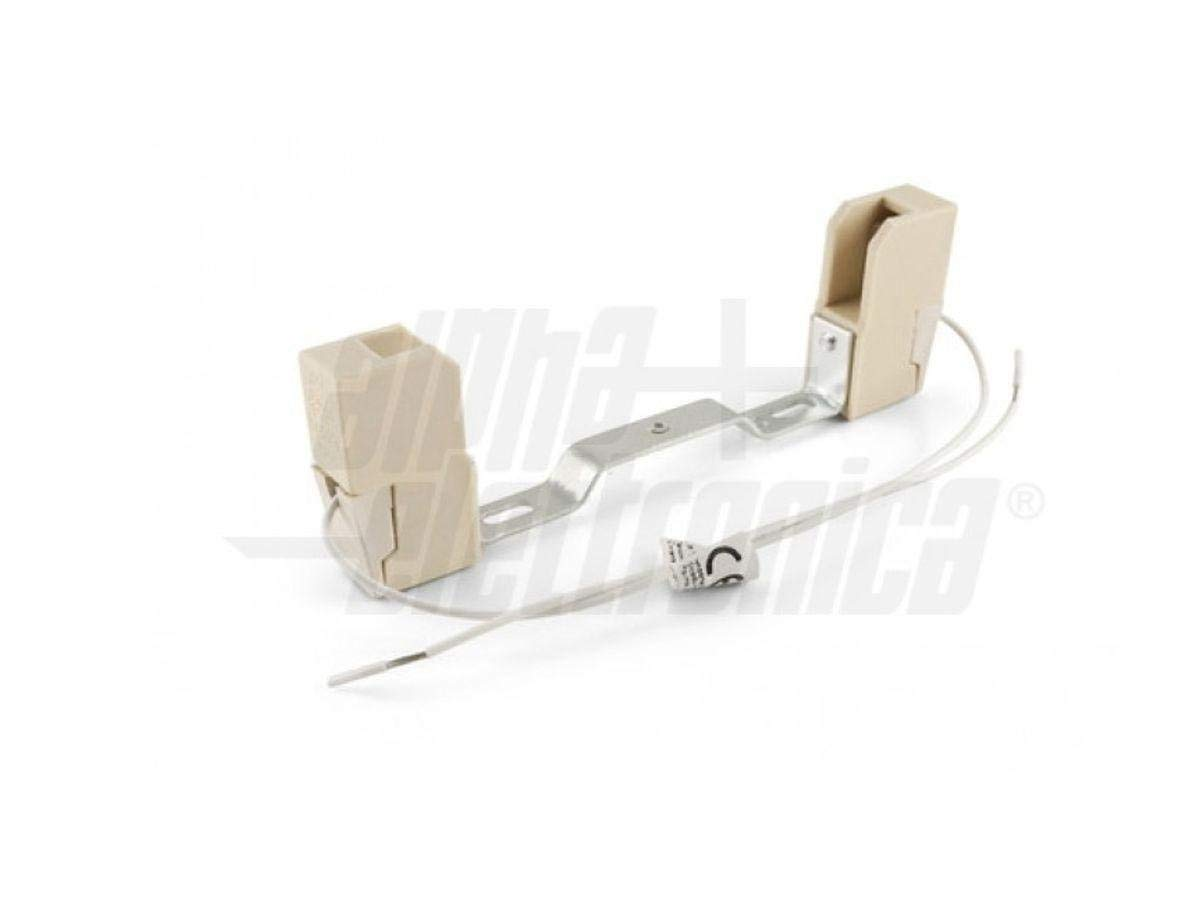 KIT 2 pezzi Portalampade Attacco R7S 118mm Adattatori Lampada Test Resistenza e Durata