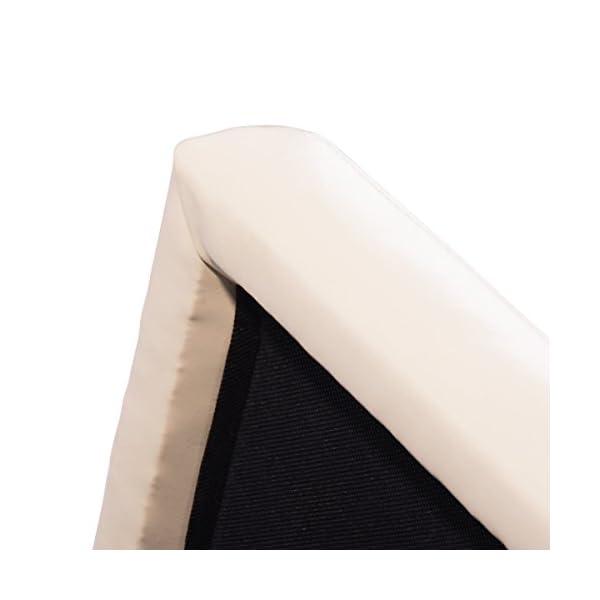 DREAMADE Tabouret Pouf Cubé de Rangement en Similicuir Tabouret Coffre Repose Pieds avec Éponge de Haute Densité Assis Confortable et Doux, Siège Multifonction 40 X 40 X 40 CM Noir/Marron (Blanc)