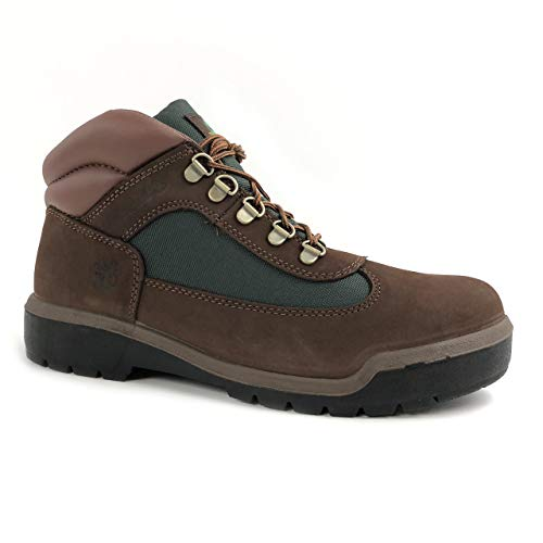 Timberland Men's Beef and Broccoli Brown Hiker Field Leather Boots - Field Nubuck Boots