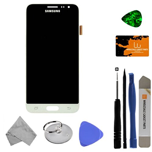 LCD & Digitizer Assembly for Samsung Galaxy J3 (2016) (White) (OEM) with Tool Kit by Wholesale Gadget Parts