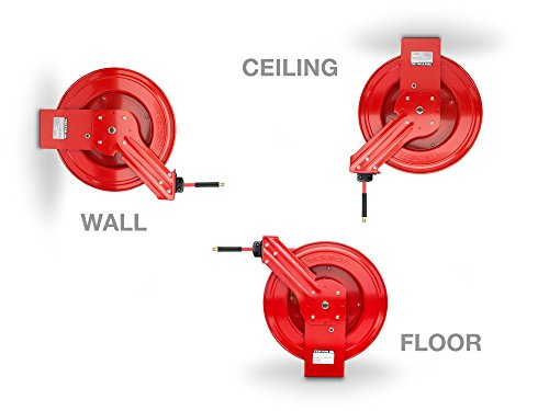TEKTON 50-Foot x 3/8-Inch I.D. Auto Rewind Air Hose Reel (250 PSI)   46845 by TEKTON (Image #3)