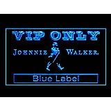 Johnnie Walker Blue Label Drink Led Light Sign