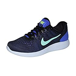 Nike Womens Lunarglide 8 Running Shoe (Persian Violetgreen Glow, 6 B(m) Us)