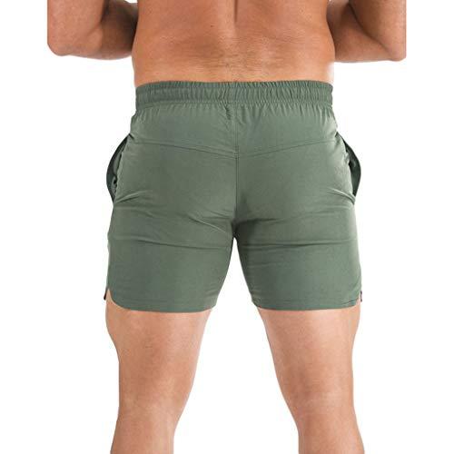 Maillot Sport De Travail Pantalon Cargo Ado Armée Jogging Mode Bain Verte Grande Short Taille Homme gqRnzg4d