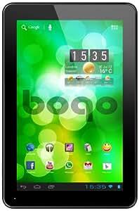 """Bogo LifeStyle 10QC - Tablet de 10.1"""" (WiFi, 2 GB de RAM, almacenamiento de 16 GB, cámara de 2 MP, Android 4.2), negro"""