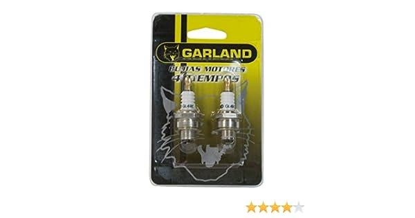 Garland - Juego bujías 4t(2u): Amazon.es: Jardín