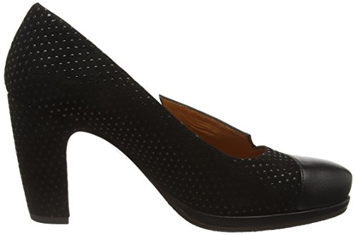 cheap 2015 Chie Mihara Women's Varda Closed-Toe Pumps Black (Loreto Black/Xuva Black) with paypal for sale cheap authentic clearance finishline vi0delc