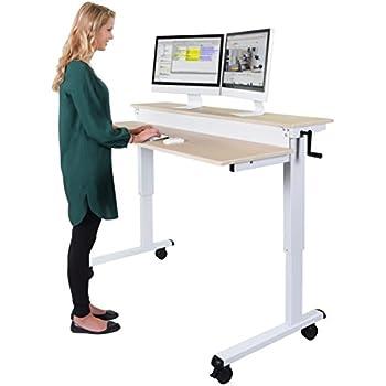 Amazon Com Stand Up Desk Store 48 Inch Adjustable Desk