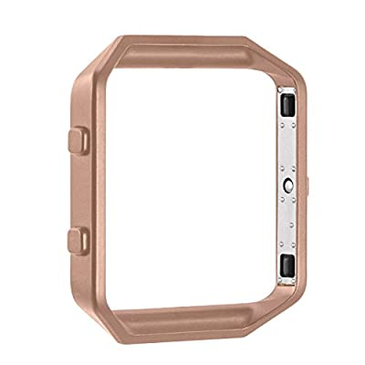 For Fitbit Blaze, Tomplus Stainless Steel Replace Metal Frame For Fitbit Blaze Smart Watch