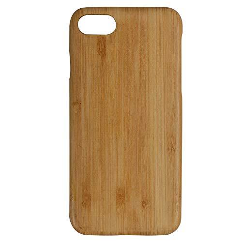 Yakia iPhone 8 ケース/iPhone 7 ケース 0.9mm ウッドケース 木製 アラミド繊維 天然木 一体型 超薄型 耐衝撃 軽量 ハード アイフォン 8 カバー 新感覚 手作り おしゃれ スマホケース 木製 アイフォン 木ケース 木製ケース 竹 バンブー