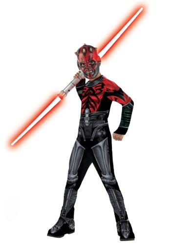 [Darth Maul Mechanical Costume - Small] (Child Darth Maul Costumes)