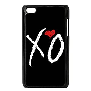 Danny Store Protective Hard PC Cover Case for iPod Touch 4, 4G (4th Generation), XO The Weeknd