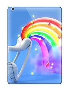 Premium [fwAeZPT926onGgs]funny Cartoon Rainbow Fart Case For Ipad Air- Eco-friendly Packaging