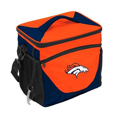 Logo Brands NFL Denver Broncos 24 Can Cooler, One Size, Carrot by Logo Brands