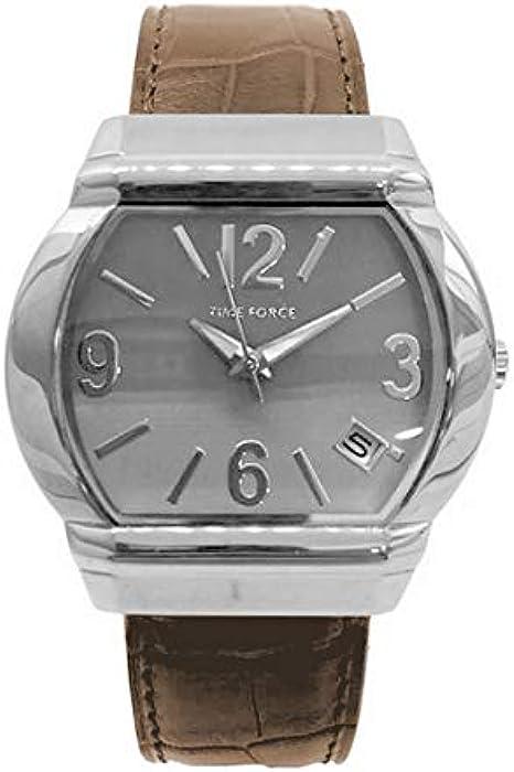 Time Force Reloj Analog-Digital para Womens de Automatic con Correa en Cloth S0322777