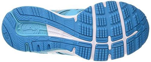 MizunoMizuno Synchro Md - Zapatillas de running mujer Azul (Blue Atoll/Silver/Dark Shadow)