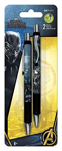 Trends International Black Panther Gel Pen 2Pk