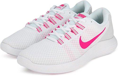 Zapatillas Converge blancas Lunar rosas Nike de running rqXIPr