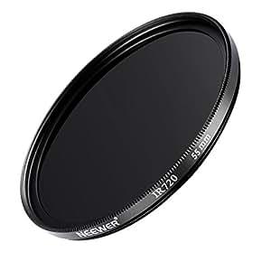 Neewer 55MM Infrared Filter - IR720 - for Kodak, Fuji, Sony, Canon, Nikon + MORE!