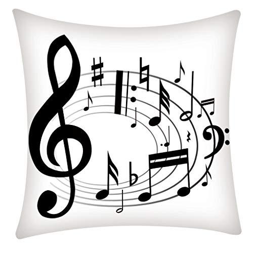 - CCatyam Lumbar Pillow Cover, Throw Pillowcase Print Zipper Body Home Decor for Car Sofa Cushion Soft
