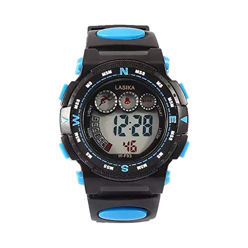 Loosebee⌚ Sport Watches for Men Analog, Multi Function Alarm Clock Children Waterproof Sports Kids Electronic Watch