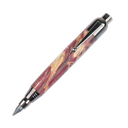 (Penn State Industries PKSPCL2BT Black Titanium Deluxe Sketch Click Pen & Pencil Combo Kit (3pack))