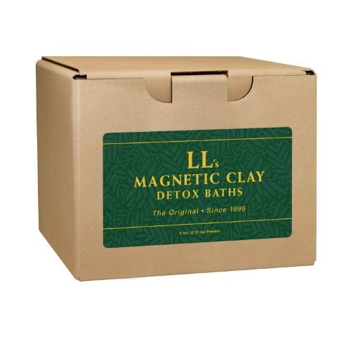 Ancient Minerals Ll Magnetic Clay Natural Detox Clay Bath  Pure Clay For Those With Allergies Or Sensitive Skin  10 Baths  No Additives