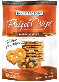 Snack Factory Deli Style Crunchy Pretzel Cracker Crisps, 8 Flavor Variety Pack, 7.2 Ounce Bags (Pack of 16) by Snack Factory (Image #6)
