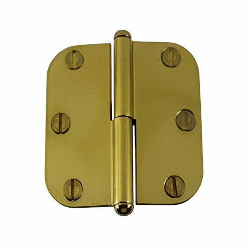 Brass Lift Off Left Cabinet Hinge 3