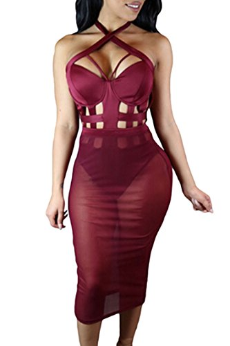 Pink Queen Womens Bandage Bodysuit product image