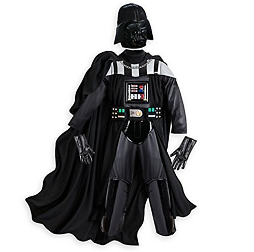 Disney Store Boys Darth Vader Costume with Sound, Small, 5/6 (Disney Villain Costume)