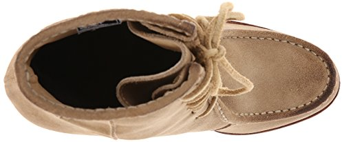 Short Womens Parker Moc Stivaletto Naturale