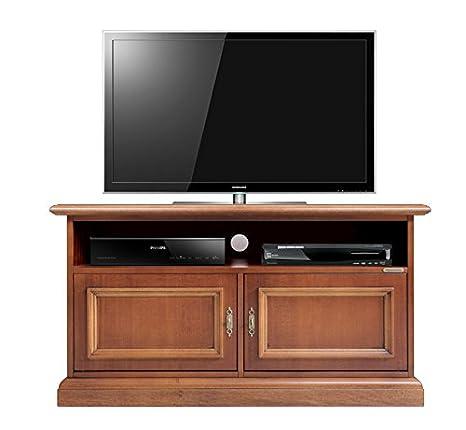 Arteferretto Mueble de TV, pequeño Mueble TV de Madera ...