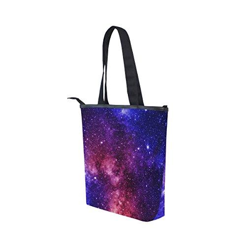 Galaxy Main Coloré Alaza Bandoulière De Fourre Nébuleuse À tout Et Sac nwzYAqwC