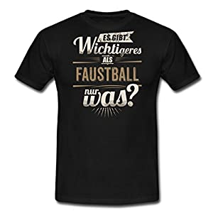 Sportler Motiv Faustball Es Gibt Wichtigeres Sepia RAHMENLOS Geschenk Männer...