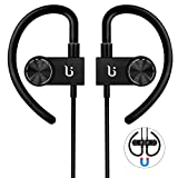 Image of Bluetooth Headphone, Wireless Sport Earphone BOROFONE BE3 Workout Exercise Earbuds With Magnetic Design With Microphone Sweatproof Waterproof CSR Chip Headsets (Black)