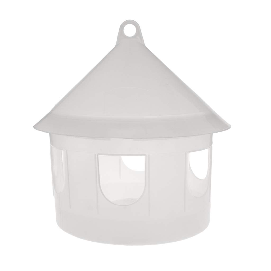Wodwad Birds Drinker with Hanging Loop Water Food Dispenser Containers Poultry Feeders by Wodwad