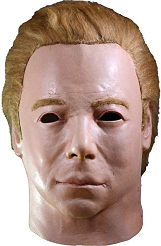 Trick or Treat Studios Star Trek Captain Kirk 1975 Adult Latex Mask Mike -